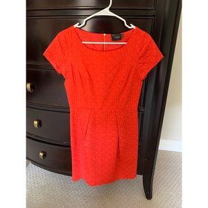 🧡 NWOT Orange-Red Dress 🧡